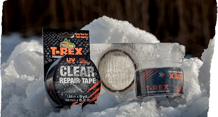 T-Rex® Clear Repair Tape