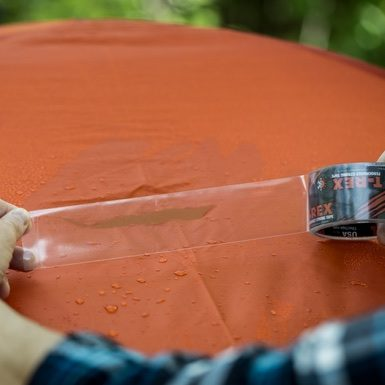 STICKS TO WET SURFACES & T-Rex Clear Repair Tape u2013 Waterproof UV Resistant Seal | T-Rex Tape
