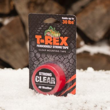 T Rex Mounting Tape Crystal Clear In Snow