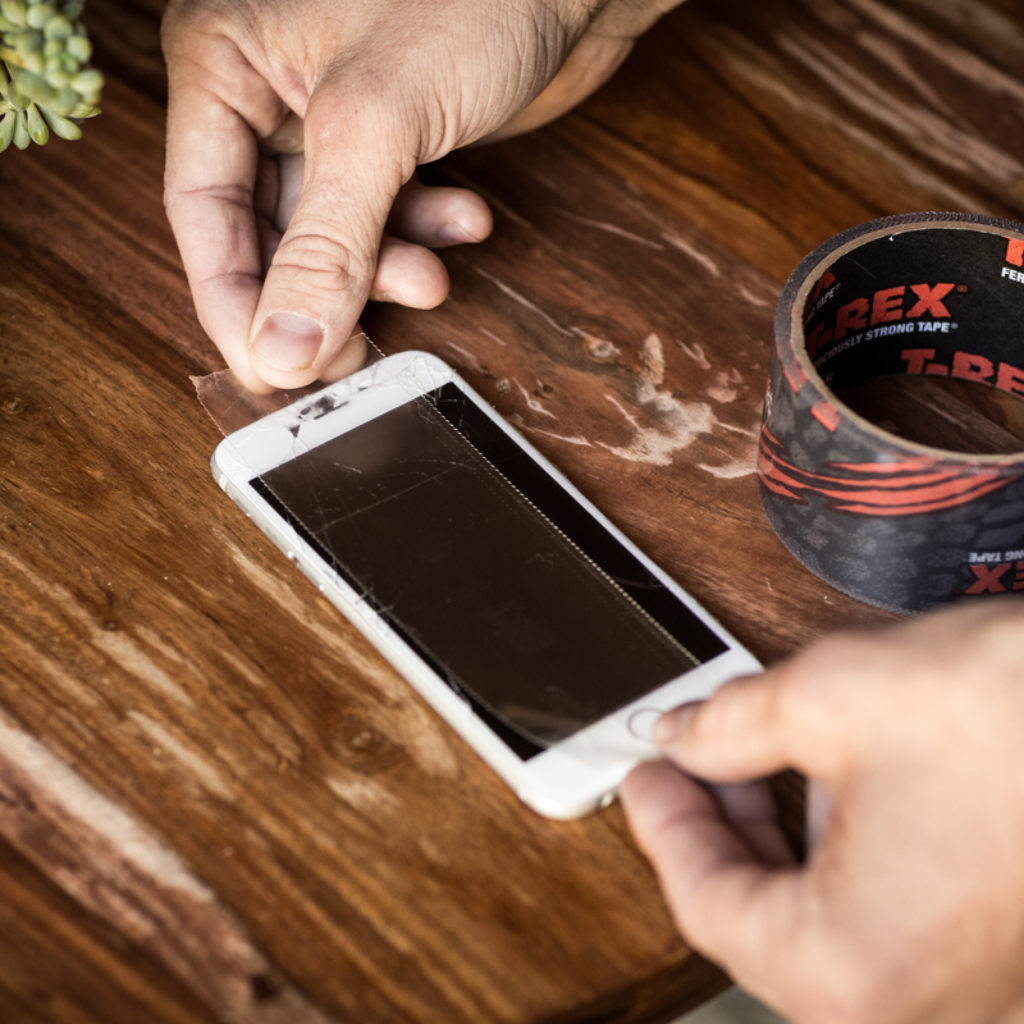 How To: Repair A Cell Phone Screen with T-Rex® Tape