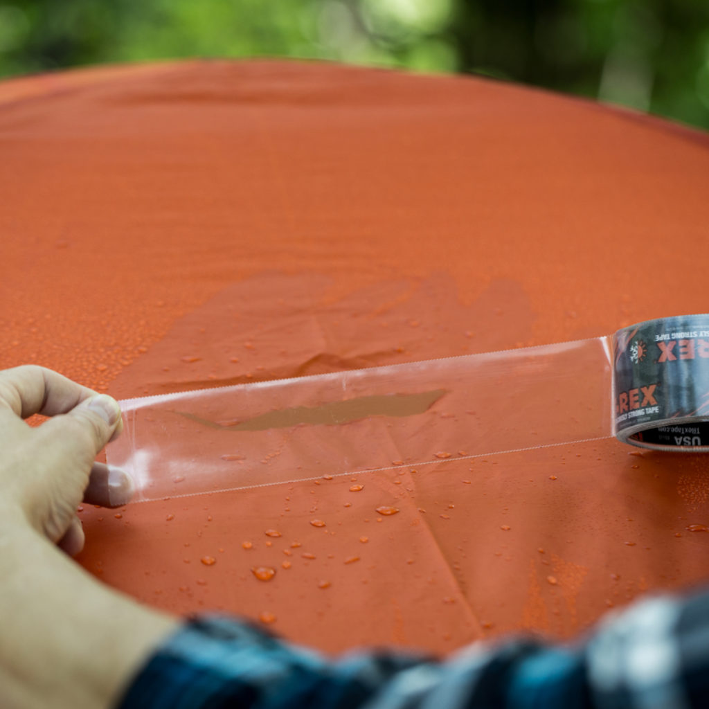 How To: Repair a Ripped Tent with T-Rex® Tape