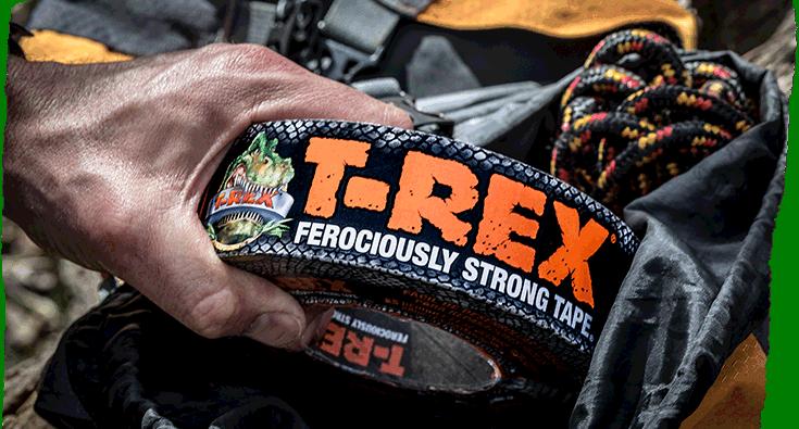 T Rex Tape Torn